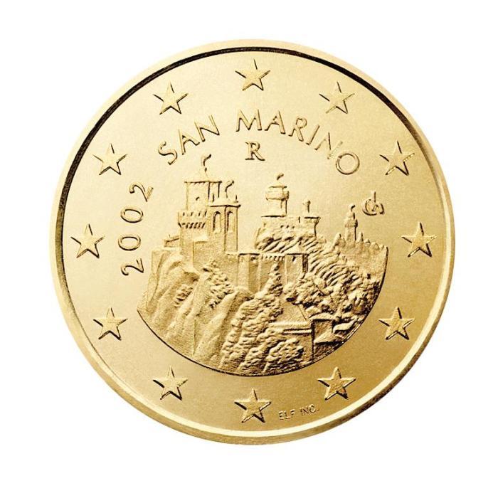 17 Pièce 50 centimes San Marin SM 050 2002