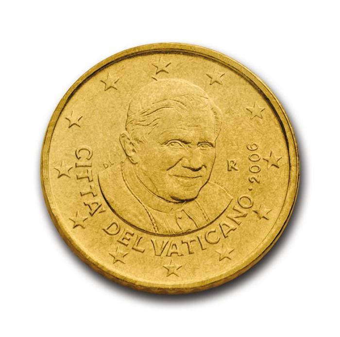 19 Pièce 50 centimes Vatican VA 050 2006