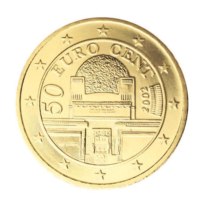 21 Pièce 50 centimes Autriche AT 050 2002