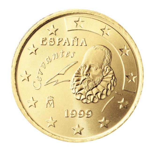 4 Pièce 50 centimes Espagne ES 050 1999