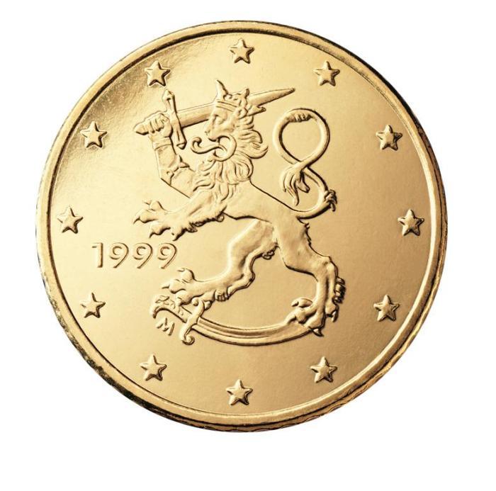 5 Pièce 50 centimes Finlande FI 050 1999
