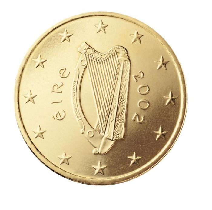 8 Pièce 50 centimes Irlande IE 050 2002