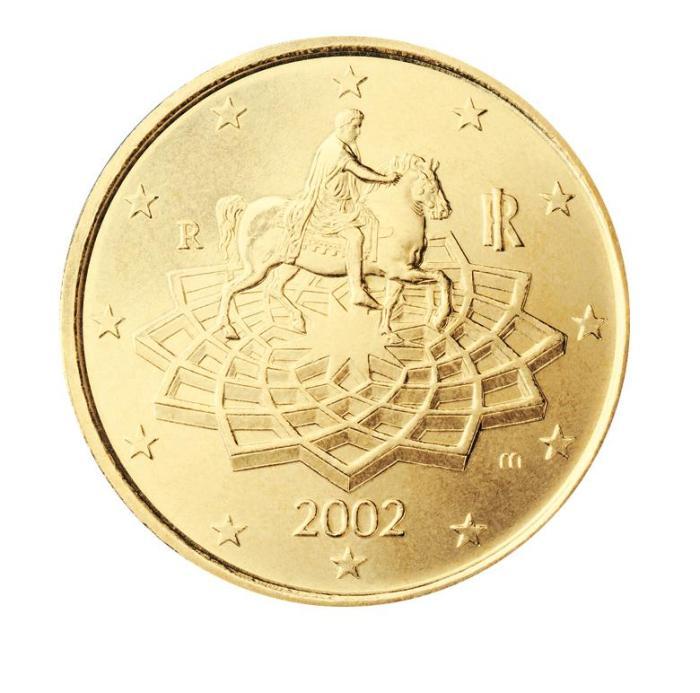 9 Pièce 50 centimes Italie IT 050 2002