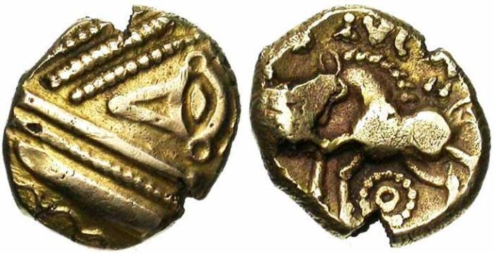 7. Gaule Belgique, Trévires, statère d'or