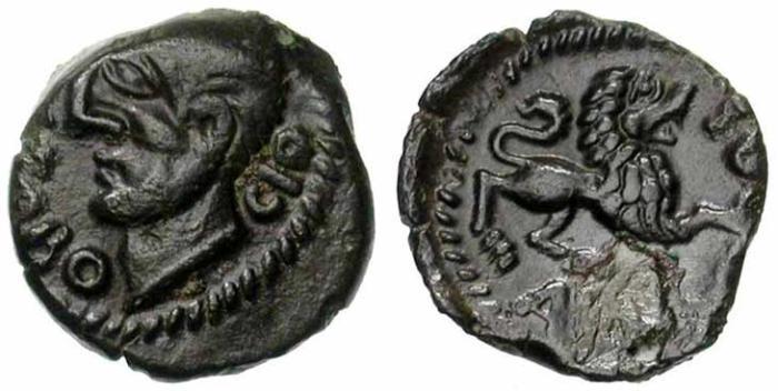 8. Gaule celtique, bronze Carnute