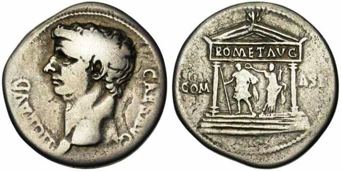 11 Monnaie grecque de Pergame (cistophore)