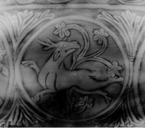 2. Détail du pot contenant le trésor d'Harrogate