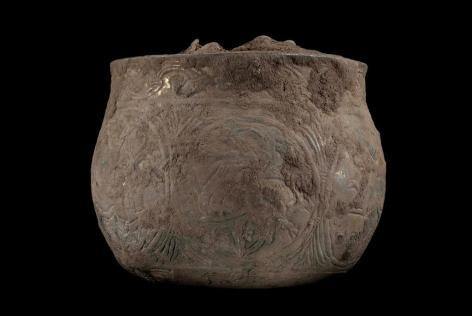 5. Pot finement ouvragé contenant le Trésor d'Harrogate