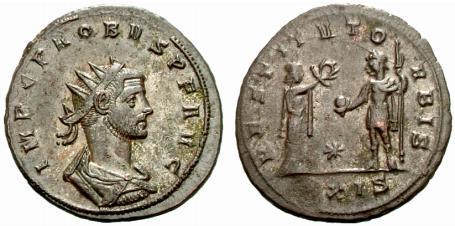 Jupiter sur une monnaie romaine : photo n°17