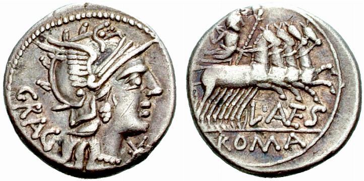 Jupiter sur une monnaie romaine : photo n°8