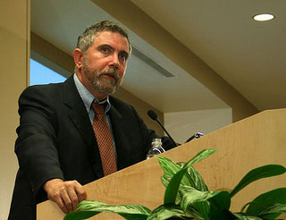 Paul Krugman, prix Nobel d'économie en 2008
