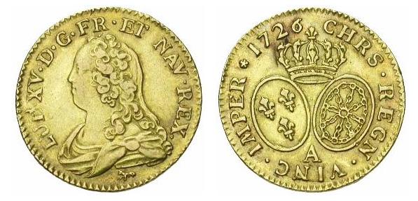 Louis d'or de Louis XV dit