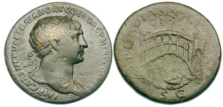 Sesterce de Trajan