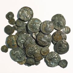 Trésor de monnaies antiques de Puig Castellar