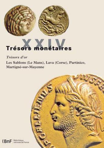 Trésors monétaires XXIV - Couverture du livre
