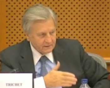 Jean-Claude Trichet, patron de la Banque Centrale Européenne