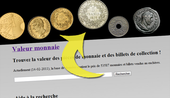 http://valeur.monnaie.me, pour estimer la valeur des monnaies