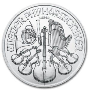Pièce Argent Philharmonique de Vienne 1 once