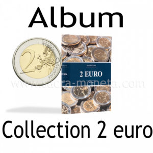 Album de poche 2 euro pour 48 pièces de 2 euros