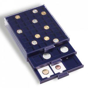 Médailliers Smart pour pièces de monnaie de collection tailles variées