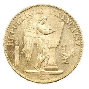 20 Francs Or Génie IIIème République