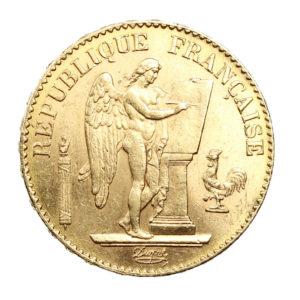 20 Francs Génie IIIème République