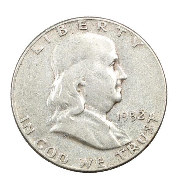 Pièce Argent Etats-Unis Demi dollar Franklin Half Dollar