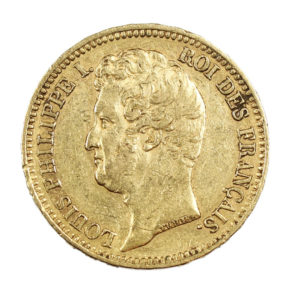 20 francs or Louis Philippe 1831 A