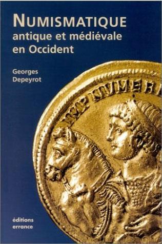 Couverture du livre Numismatique antique et médiévale en Occident