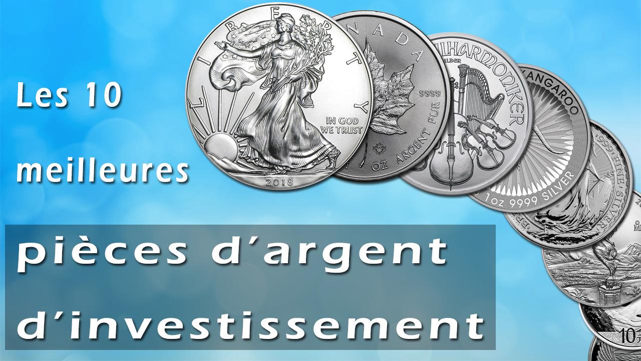 Quelles sont les 10 meilleures pièces d'argent d'investissement ?