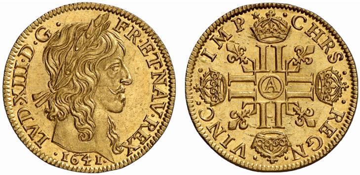 Louis d'or de Louis XIII