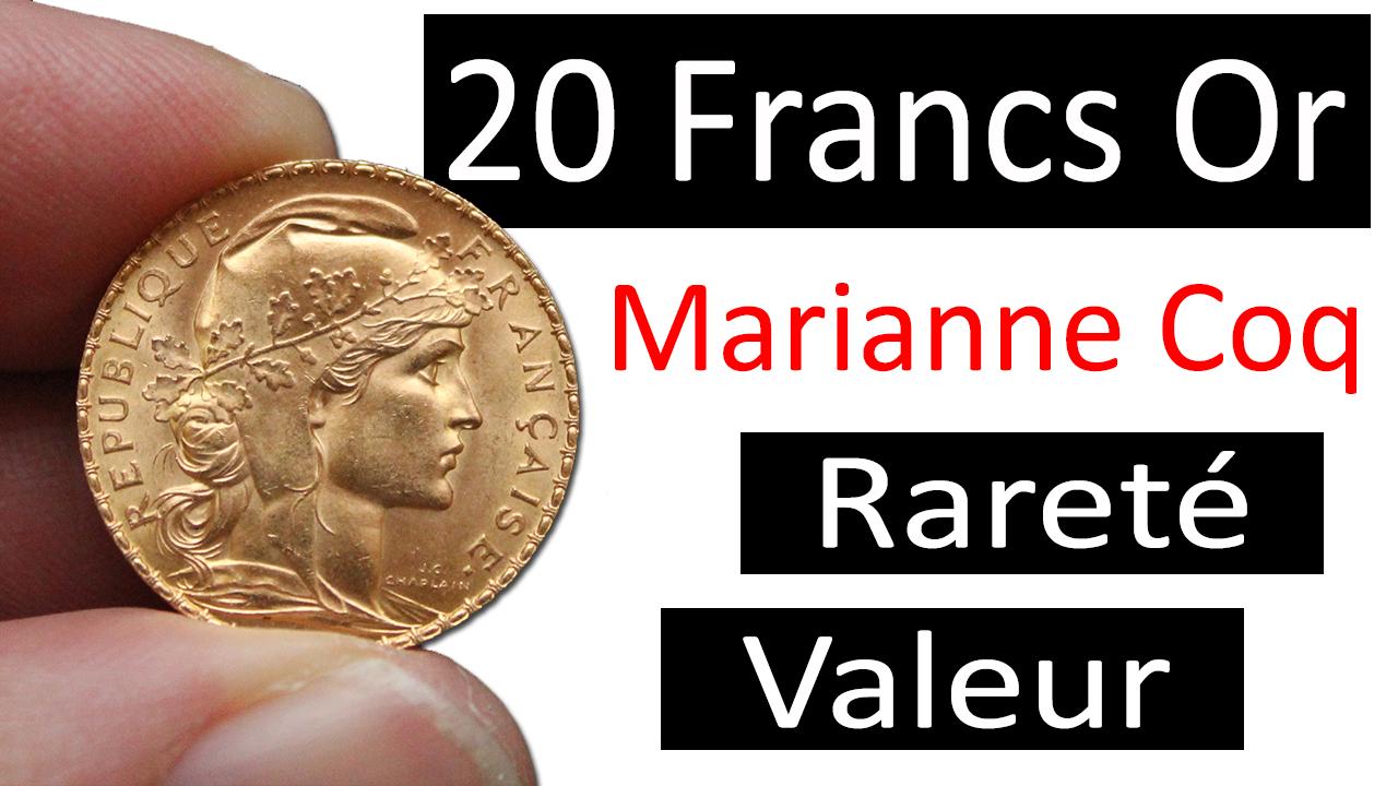 Vidéo : Quelle est la rareté et la valeur des pièces de 20 francs or dites