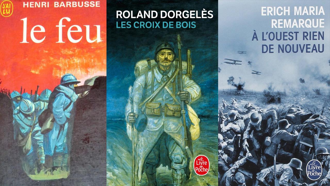Trois romans sur la dure réalité des combats dans les tranchées