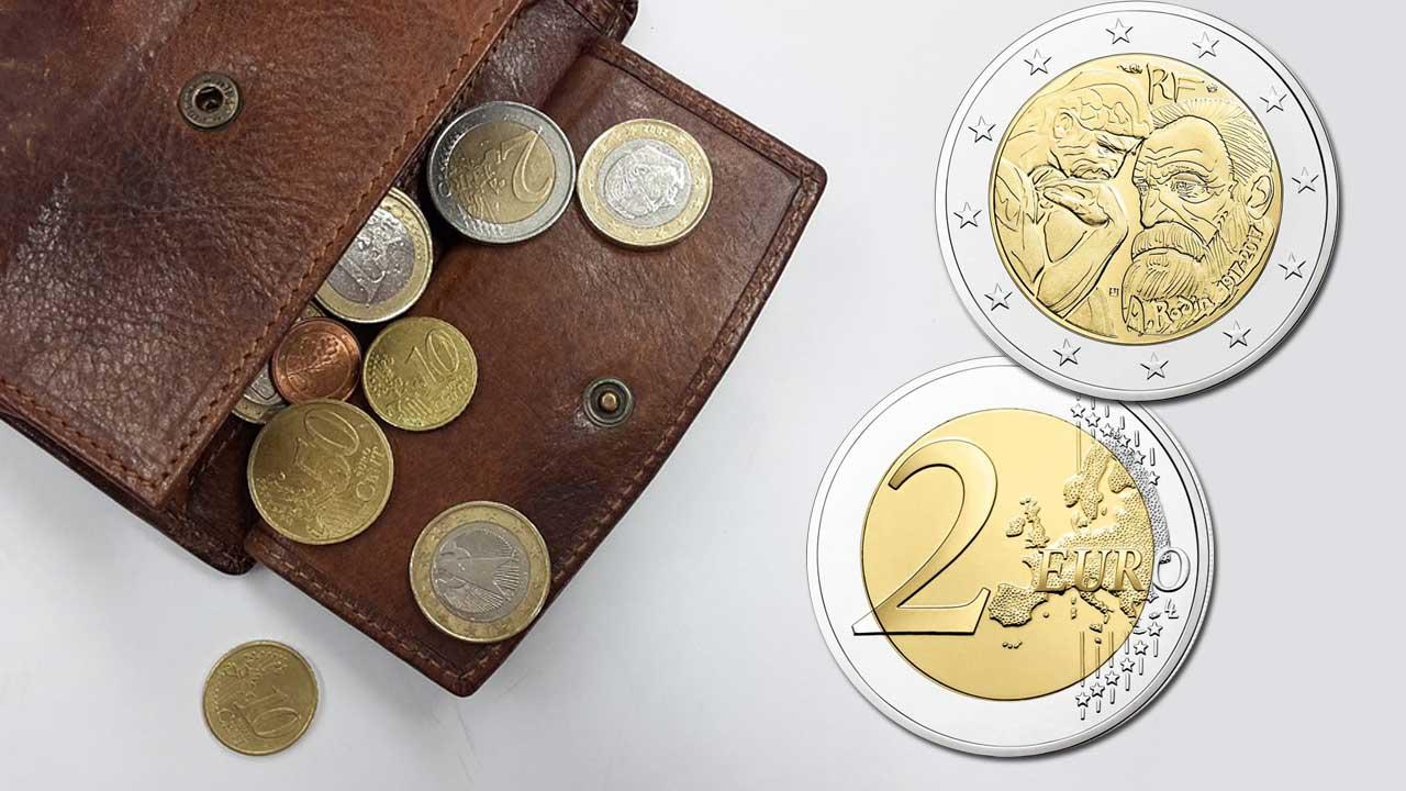 Trouver une pièce commémorative de 2 euro dans son porte monnaie c'est possible