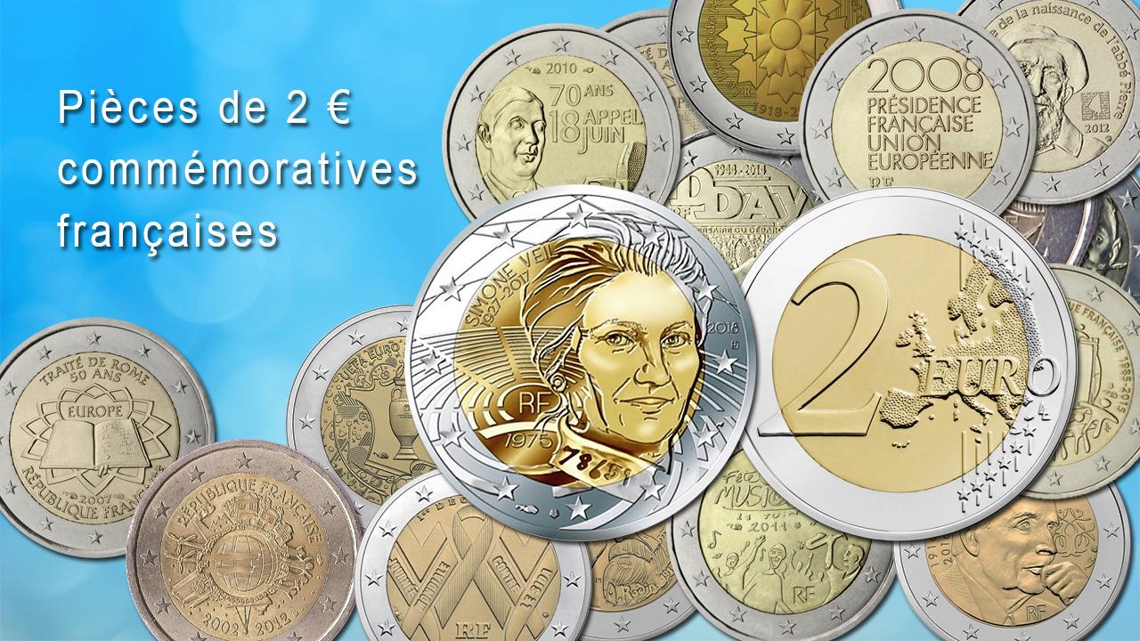 Les pièces de 2 euro commémoratives sont très populaires