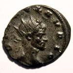 Monnaie de Claude le Gothique portrait Monnaie 12