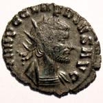 Monnaie de Claude le Gothique portrait Monnaie 13