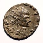 Monnaie de Claude le Gothique portrait Monnaie 1
