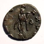 Monnaie de Claude le Gothique revers. Allégorie