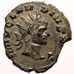 Monnaie de Claude le Gothique portrait Monnaie 3
