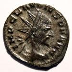 Monnaie de Claude le Gothique portrait Monnaie 8