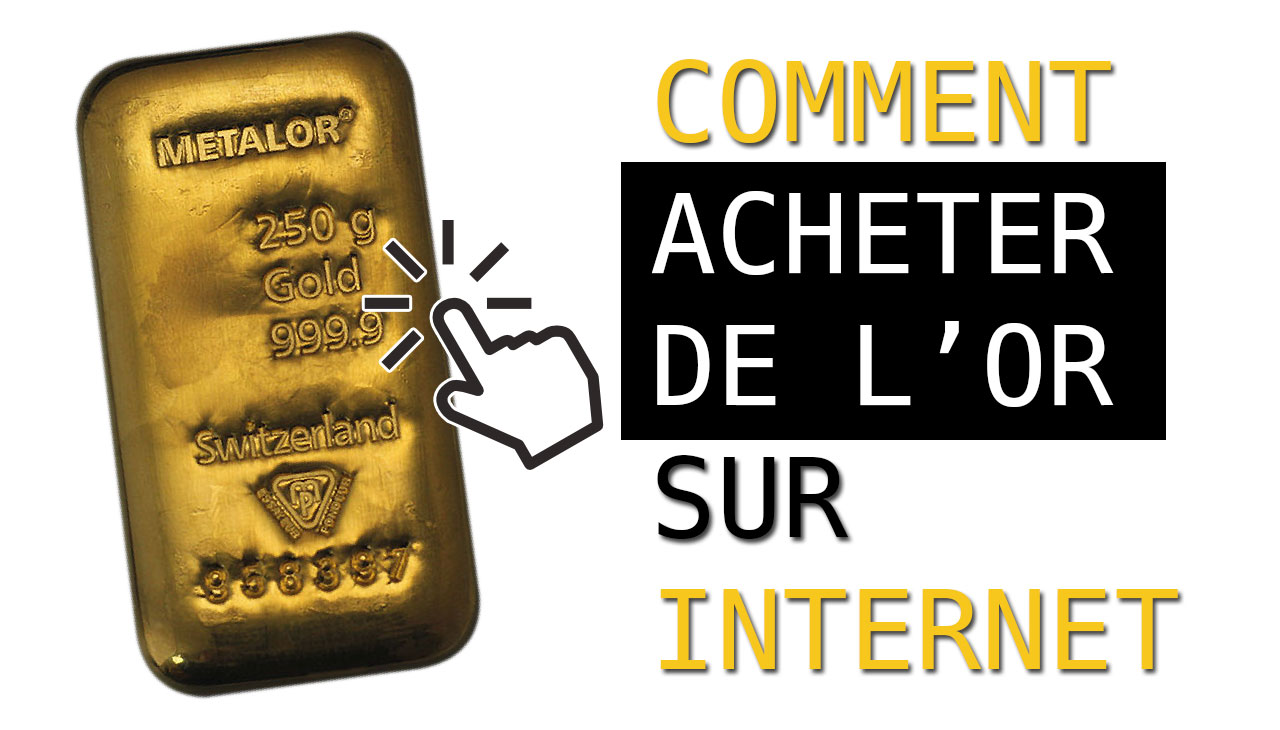 Comment acheter de l'or sur internet ?