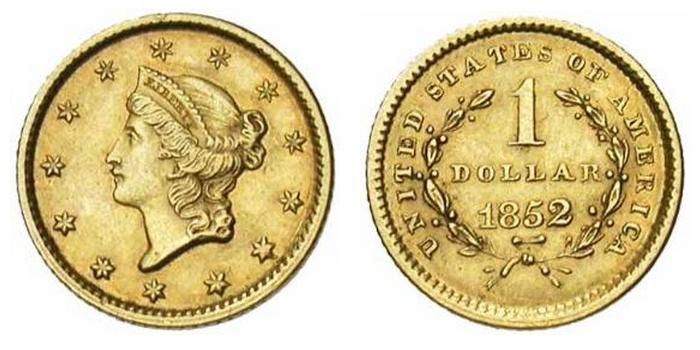 1 dollar or Liberty Head