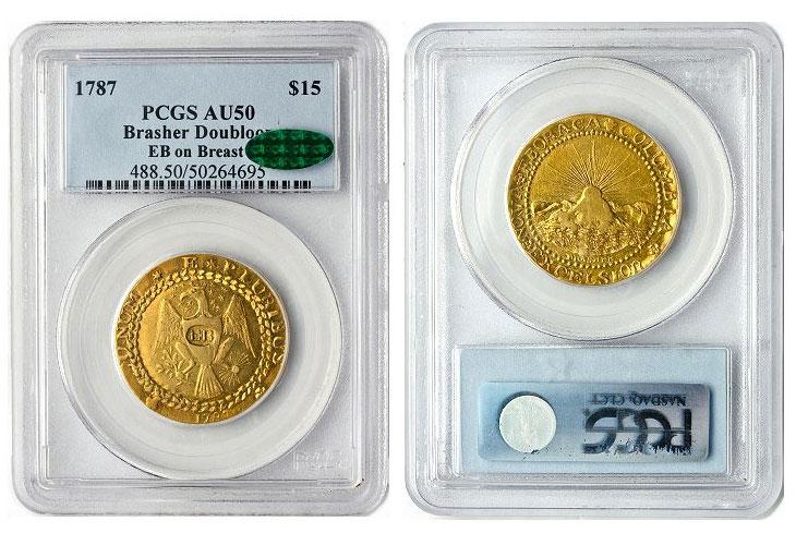 La premiere piece d'or américaine vendue pour plus de 7 millions de dollars