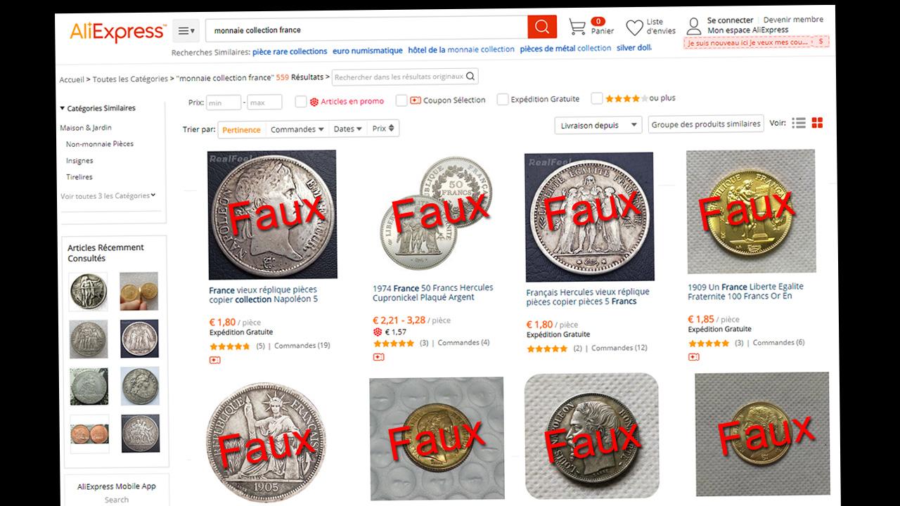 Prolifération de fausses monnaies chinoises