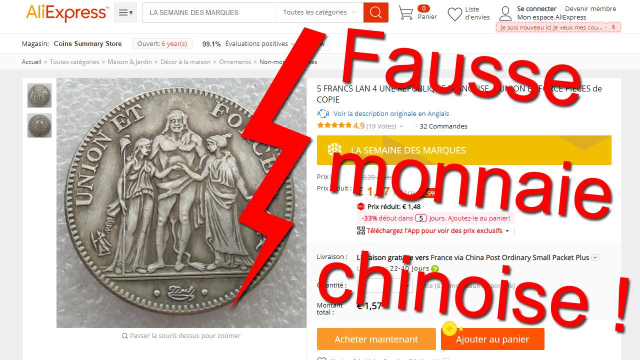 Fausses monnaies chinoises : comment éviter les arnaques
