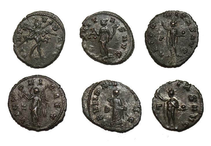 Images de dieux, déesses et allégories au revers des monnaies