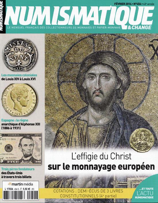 Numismatique et Change Magazine, numero 454 février 2014