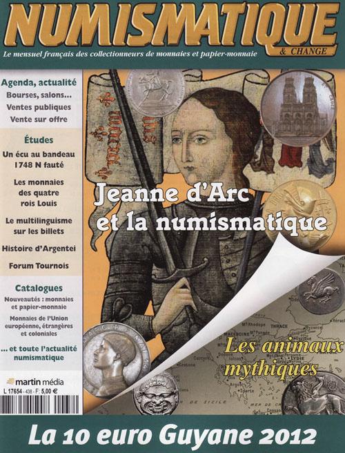 Numismatique et Change Magazine, numero 438 juin 2012