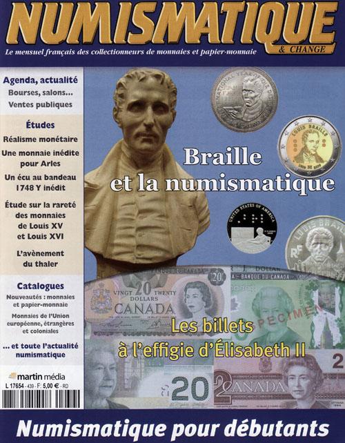 Numismatique et Change Magazine, numero 439 juillet-août 2012